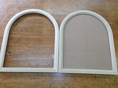 curved trim